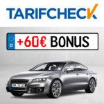 🚗 Tarifcheck: Kfz-Versicherung wechseln + 60€ Bonus + 500€ Gewinnspiel