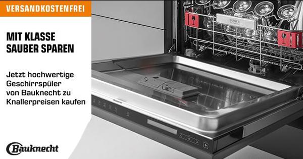 Saturn Bauknecht Geschirrspuler Im Angebot Versandkostenfrei