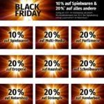 Black Friday bei Müller: 20% Rabatt auf (fast) alles (MBW: 50€)
