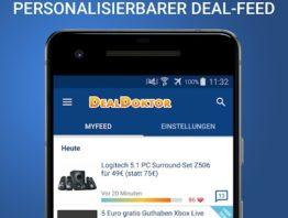 DealDoktor MyFeed App