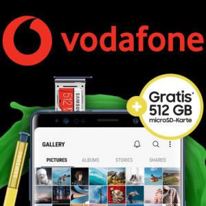 Deinhandy Vodafone Smart L Galaxy Note 9 Aktion Titelbild