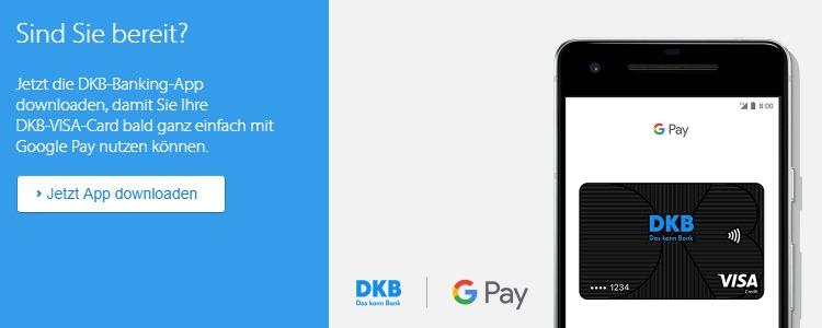 Google Pay I DKB