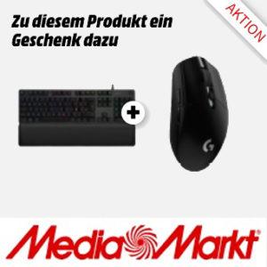 Logitech G513 mechanische Gaming-Tastatur + Logitech G305 Gaming-Maus MM Titelbild