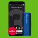 MD GOOGLE PIXEL 3 64GB JUST BLACK ULTIMATE EARS BLAST BLUE TITEL