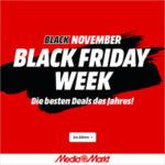 🔥 MediaMarkt feuert in die Black Friday Week! iPhone, Samsung, TVs, Xiaomi und unzählige weitere Top-Preise