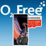 o2 Free M mit 20GB LTE für 34,99€/Monat + Galaxy Note 9 + Sennheiser HD 4.50 Kopfhörer + 512GB Speicherkarte *105€ Ersparnis + Tarif eff. GRATIS* // uvm