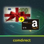 *Nur noch heute* Jetzt sogar 170€ Bonus für kostenloses comdirect Depot (schufafrei) + weitere 50€ Aktivitätsprämie