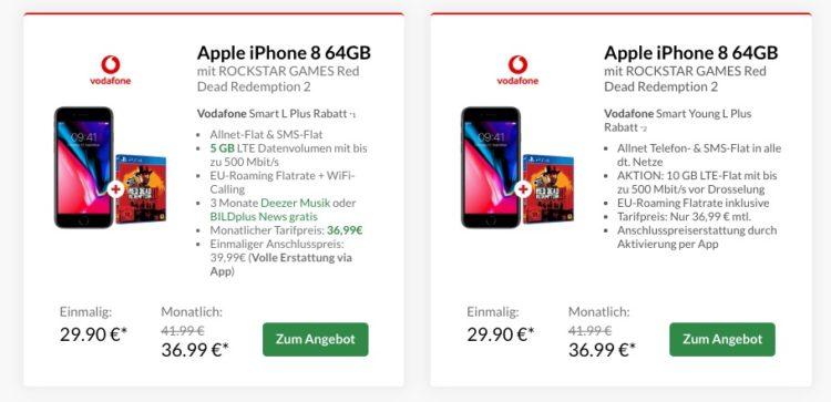 Vodafone Smart L Mit 5gb Lte Für Mtl 3699 Top Smartphone
