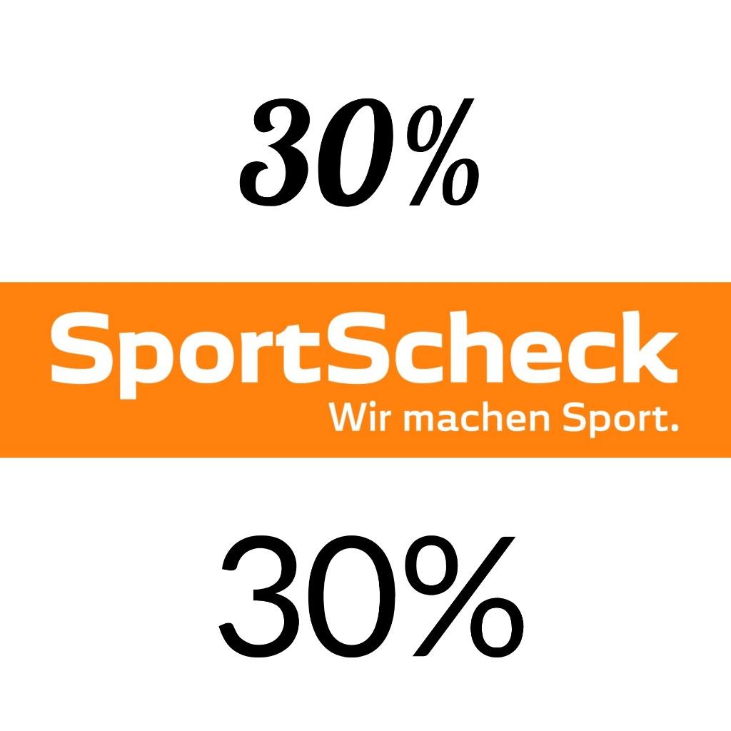SportScheck: 30% Gutschein auf ausgewählte Artikel