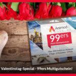 2 Übernachtungen zu zweit inkl. Frühstück in einem von 100 Animod Hotels in ganz Europa (Prag, St. Petersburg, u.v.m.) für 89,98€