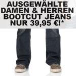 Bootcut Jeans für Damen und Herren nur 39,95€
