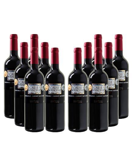 Calle Principal Tempranillo-Cabernet Sauvignon Vino de la Tierra Castilla 1