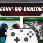 MediaMarkt: Gönn Dir Dienstag, z.B.Xbox One Controller + Halo 5 + GoW 4 für 39€ (statt 72€)