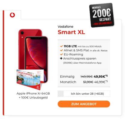 Vodafone Alles Flat 11gb Lte Als Sim Only Mit Top Smartphone