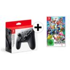 Nintendo Switch Pro Controller + Super Smash Bros. Ultimate