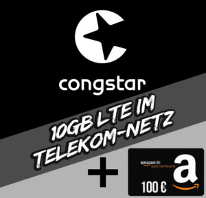 PB24 congstar Allnet Flat Plus online LTE Aktion Titelbild