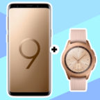 SAMSUNG Galaxy S9 Dual-SIM & Samsung Galaxy Watch 42mm LTE MD Flat Allnet Plus Aktion MediaMarkt Titelbild