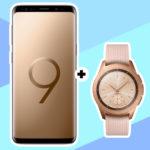 *130€ gespart!* Samsung Galaxy S9 + Galaxy Watch (LTE) für 766€ (statt 896€) inkl. Allnet-Flat + 2GB eff. kostenlos! (bei mtl. 26,99€) // oder Huawei P20 Pro mit satter Ersparnis!