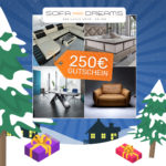 Adventskalender 2018 - Türchen 10: 250€ Gutschein für Sofa Dreams gewinnen