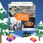 Adventskalender 2018 - Türchen 10: 250€ Gutschein für Sofa Dreams gewinnen