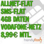 mobilcom-debitel Vodafone comfort Allnet 4GB Aktion Handyflash Titelbild