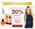 Tagesangebot bei Galeria Kaufhof: 20 Prozent Rabatt auf Düfte und Duftsets