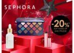 Galeria Kaufhof: 20 Prozent Rabatt auf Make up und Pflege von SEPHORA