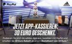 30€ Rabatt in der Adidas App bei Paypal-Zahlung