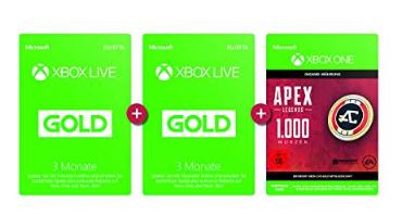 6 Monate Xbox Live Gold