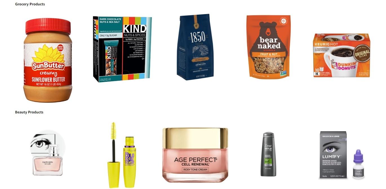 Amazon Produktproben Beispiele