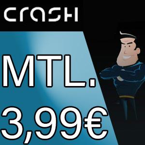 CRASH Smartphone Flat 1000 freenet shopping
