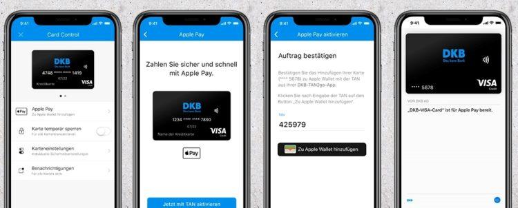 DKB Apple Pay Karte hinzufuegen