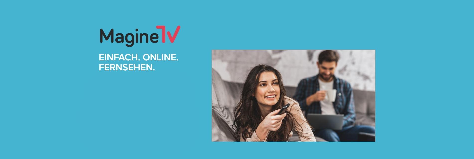 Online Fernsehen mit Magine TV