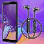 SAMSUNG Galaxy A7 & Sennheiser CX6 Super Select S mit Smartphone 5 Allnet SMS-Flat Titelbild