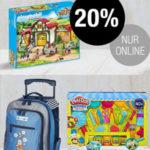 Galeria Kaufhof: 20% Rabatt auf ausgewählte Spielwaren, 10% Rabatt auf LEGO Ninjago