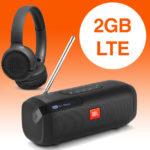 *Letzte Chance* Tarifhaus: Alles-Flat + 2GB LTE + Telefonie ins Ausland (USA, Türkei, Russland, etc.) mit 19€ Gewinn dank 2x JBL Bluetooth-Kopfhörer!