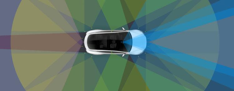 Tesla Autopilot Fahren