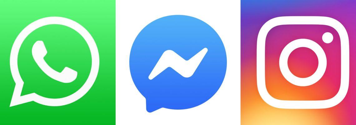 WhatsApp Instagram FB Messenger Kombination