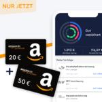 CLARK: 50€ Amazon.de Gutschein für 2 Versicherungen + 20€ für Rentencheck