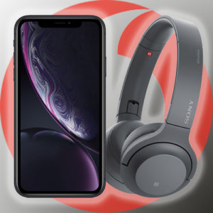 iPhone XR Sony WH H800 Vodafone Smart XL PB24
