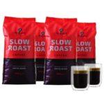 4 kg Altezza Slow Roast Coffee - Kaffeebohnen + zwei doppelwandige Kaffeegläserfür 29,99€