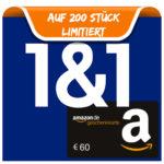 *Letzte Chance* 1&1 DSL + bis zu 150€ Startguthaben + 60€ Amazon.de-Gutschein