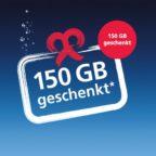150 GB gratis in allen O2 Tarifen
