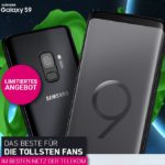 *KNALLER* Telekom-Netz: congstar Allnet-Flat + 3GB LTE für 22,50€/Monat + Samsung Galaxy S9 für 59€
