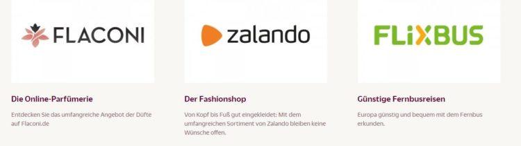 Gutschein Shops