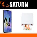 Saturn Valentinstags-Aktion: HUAWEI Mate20 +HUAWEI CV80 Fotodrucker für 599€(statt 668€)