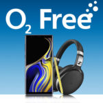 o2 Free M (Boost): Alles-Flat + 20GB LTE für 39,99€/Monat + Samsung Galaxy Note 9 + Sennheiser HD 4.50 für 1€