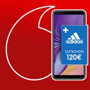 Vodafone RED Partnerkarte Samsung Galaxy A7 Adidas Gutschein