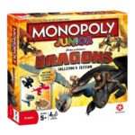 Winning Moves Monopoly Junior Dragons Collector's Edition