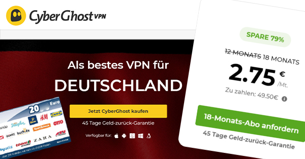 cyberghost vpn post